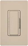 Lutron MA-T51MN-TP Maestro Satin 120V 5A Lighting, 3A Fan Multi Location Timer in Taupe