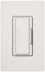 Lutron MA-T51MN-WH Maestro 120V 5A Lighting, 3A Fan Multi Location Timer in White