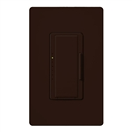 Lutron MACL-153M-BR Maestro 600W Incandescent, 150W CFL or LED Single Pole / 3-Way Dimmer in Brown