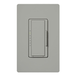 Lutron MACL-153M-GR Maestro 600W Incandescent, 150W CFL or LED Single Pole / 3-Way Dimmer in Gray