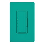 Lutron MACL-153M-TQ Maestro 600W Incandescent, 150W CFL or LED Single Pole / 3-Way Dimmer in Turquoise