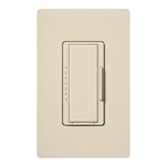 Lutron MACL-153MH-LA Maestro 600W Incandescent, 150W CFL or LED Single Pole / 3-Way Dimmer in Light Almond