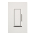 Lutron MACL-153MH-WH Maestro 600W Incandescent, 150W CFL or LED Single Pole / 3-Way Dimmer in White