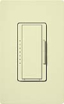 Lutron MAELV-600-AL Maestro 600W Electronic Low Voltage Dimmer in Almond