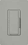 Lutron MAELV-600-GR Maestro 600W Electronic Low Voltage Dimmer in Gray