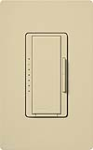Lutron MAELV-600-IV Maestro 600W Electronic Low Voltage Dimmer in Ivory