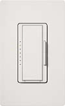 Lutron MAELV-600-WH Maestro 600W Electronic Low Voltage Dimmer in White