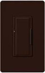 Lutron MAF-6AM-277-BR Maestro 277V / 6A Fluorescent 3-Wire / Hi-Lume LED Multi Location Dimmer in Brown