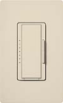 Lutron MALV-600-LA Maestro 600VA, 500W Magnetic Low Voltage Dimmer in Light Almond