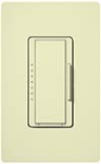 Lutron MAW-600H-AL Maestro 600W Incandescent / Halogen Dimming Package with Wallplate in Almond