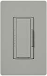 Lutron MAW-600H-GR Maestro 600W Incandescent / Halogen Dimming Package with Wallplate in Gray
