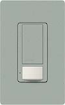 Lutron MS-OPS5AM-BG Maestro Satin 120V / 5A Digital Multi Location Switch and Occupancy Sensor in Bluestone