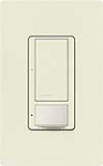 Lutron MS-OPS5AM-BI Maestro Satin 120V / 5A Digital Multi Location Switch and Occupancy Sensor in Biscuit