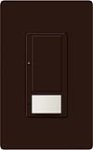 Lutron MS-OPS5AM-BR Maestro 120V / 5A Digital Multi Location Switch and Occupancy Sensor in Brown