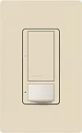 Lutron MS-OPS5AM-ES Maestro Satin 120V / 5A Digital Multi Location Switch and Occupancy Sensor in Eggshell