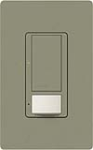 Lutron MS-OPS5AM-GB Maestro Satin 120V / 5A Digital Multi Location Switch and Occupancy Sensor in Greenbriar