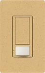 Lutron MS-OPS5AM-GS Maestro Satin 120V / 5A Digital Multi Location Switch and Occupancy Sensor in Goldstone