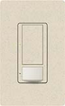 Lutron MS-OPS5AM-LS Maestro Satin 120V / 5A Digital Multi Location Switch and Occupancy Sensor in Limestone