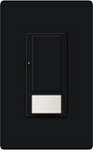 Lutron MS-OPS5AM-MN Maestro Satin 120V / 5A Digital Multi Location Switch and Occupancy Sensor in Midnight