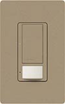 Lutron MS-OPS5AM-MS Maestro Satin 120V / 5A Digital Multi Location Switch and Occupancy Sensor in Mocha Stone