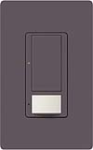Lutron MS-OPS5AM-PL Maestro Satin 120V / 5A Digital Multi Location Switch and Occupancy Sensor in Plum
