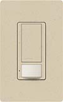Lutron MS-OPS5AM-ST Maestro Satin 120V / 5A Digital Multi Location Switch and Occupancy Sensor in Stone