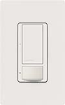 Lutron MS-OPS5AM-SW Maestro Satin 120V / 5A Digital Multi Location Switch and Occupancy Sensor in Snow