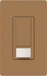 Lutron MS-OPS5AM-TC Maestro Satin 120V / 5A Digital Multi Location Switch and Occupancy Sensor in Terracotta