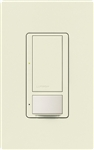 Lutron MS-OPS6M-DV-BI (MS-OPS6M2-DV-BI) Maestro Switch with Occupancy Sensor Dual Voltage 120V-277V / 6A Multi Location in Biscuit