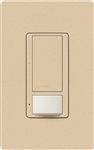Lutron MS-OPS6M-DV-DS (MS-OPS6M2-DV-DS) Maestro Switch with Occupancy Sensor Dual Voltage 120V-277V / 6A Multi Location in Desert Stone
