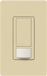 Lutron MS-OPS6M-DV-IV (MS-OPS6M2-DV-IV) Maestro Switch with Occupancy Sensor Dual Voltage 120V-277V / 6A Multi Location in Ivory