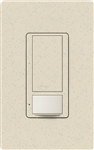 Lutron MS-OPS6M-DV-LS (MS-OPS6M2-DV-LS) Maestro Switch with Occupancy Sensor Dual Voltage 120V-277V / 6A Multi Location in Limestone