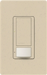 Lutron MS-OPS6M-DV-ST (MS-OPS6M2-DV-ST) Maestro Switch with Occupancy Sensor Dual Voltage 120V-277V / 6A Multi Location in Stone