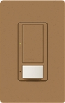 Lutron MS-OPS6M-DV-TC (MS-OPS6M2-DV-TC) Maestro Switch with Occupancy Sensor Dual Voltage 120V-277V / 6A Multi Location in Terracotta