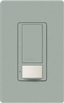 Lutron MS-OPS6M2-DV-BG Maestro Switch with Occupancy Sensor Dual Voltage 120V-277V / 6A Multi Location in Bluestone