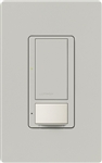 Lutron MS-OPS6M2N-DV-PD Maestro Switch with Occupancy/Vacancy Sensor, Neutral Wire Required, Dual Voltage 120V-277V / 6A Multi Location in Palladium