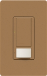 Lutron MS-OPS6M2N-DV-TC Maestro Switch with Occupancy/Vacancy Sensor, Neutral Wire Required, Dual Voltage 120V-277V / 6A Multi Location in Terracotta