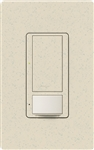 Lutron MS-OPS6M2U-DV-LS Maestro Switch with Occupancy Sensor Dual Voltage 120V-277V / 6A Multi Location, Neutral or Ground Wire, in Limestone