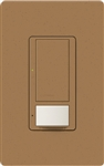 Lutron MS-OPS6M2U-DV-TC Maestro Switch with Occupancy Sensor Dual Voltage 120V-277V / 6A Multi Location, Neutral or Ground Wire, in Terracotta