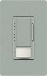 Lutron MS-VP600M-BG Maestro Satin 600W Incandescent / Halogen Multi Location Dimmer and Vacancy Sensor in Bluestone