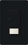 Lutron MS-VP600M-BL Maestro 600W Incandescent / Halogen Multi Location Dimmer and Vacancy Sensor in Black