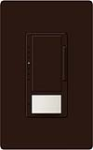 Lutron MS-VP600M-BR Maestro 600W Incandescent / Halogen Multi Location Dimmer and Vacancy Sensor in Brown