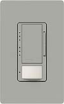 Lutron MS-VP600M-GR Maestro 600W Incandescent / Halogen Multi Location Dimmer and Vacancy Sensor in Gray