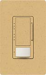 Lutron MS-VP600M-GS Maestro Satin 600W Incandescent / Halogen Multi Location Dimmer and Vacancy Sensor in Goldstone