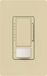 Lutron MS-VP600M-IV Maestro 600W Incandescent / Halogen Multi Location Dimmer and Vacancy Sensor in Ivory