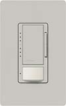 Lutron MS-VP600M-PD Maestro Satin 600W Incandescent / Halogen Multi Location Dimmer and Vacancy Sensor in Palladium