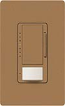 Lutron MS-VP600M-TC Maestro Satin 600W Incandescent / Halogen Multi Location Dimmer and Vacancy Sensor in Terracotta