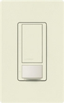 Lutron MS-VPS2-BI Maestro Vacancy Sensor with Switch Single Pole 120V / 2A in Biscuit