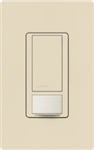 Lutron MS-VPS2-ES Maestro Vacancy Sensor with Switch Single Pole 120V / 2A in Eggshell