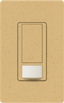 Lutron MS-VPS2-GS Maestro Vacancy Sensor with Switch Single Pole 120V / 2A in Goldstone